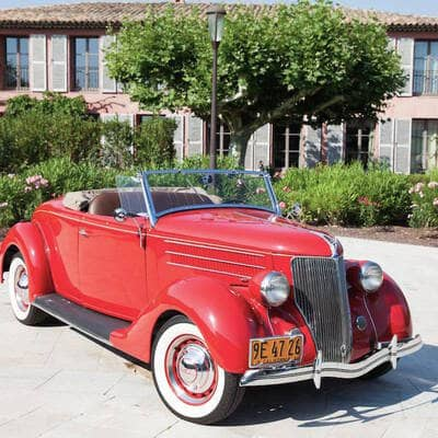 Ford V8 DeLuxe 2 Door Roadster 1936